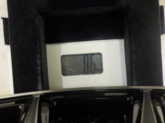 エコフォルムCRS15の重さ